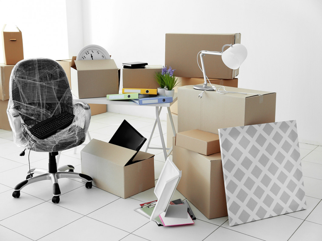 Let Us Pack Up Your Office
